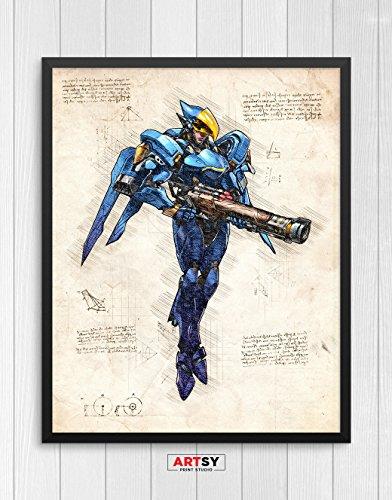 overwatch poster genji