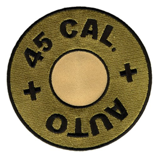 Hot Leathers 45 Cal. Bullet Patch (4