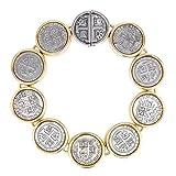Bijoux Bobbi Women's Espanol Coin Drop Design Bracelet Series