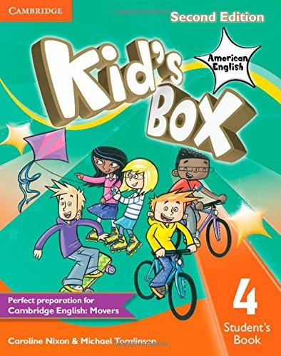 By Caroline Nixon Kid's Box American English Level 4 Student's Book (2nd Second Edition) [Paperback] pdf epub
