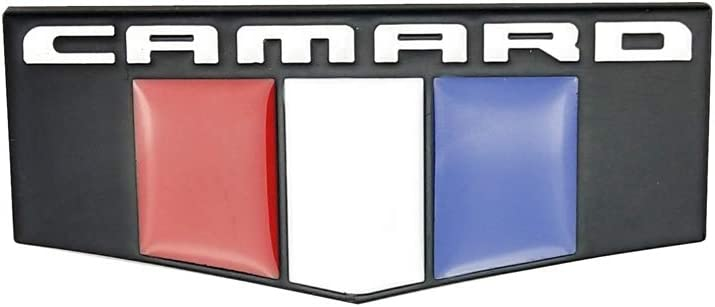 2PACK CAMARO M CAB EMBLEMS PREMIUM CAR 3D BADGES METAL NAMEPLATES Sticker REPLACEMENT For CAMARO SS RS ZL1 1LE Chrome