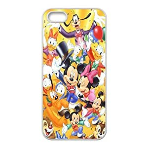 HDSAO Disney Cartoon Character Case Cover For iPhone 5S Case