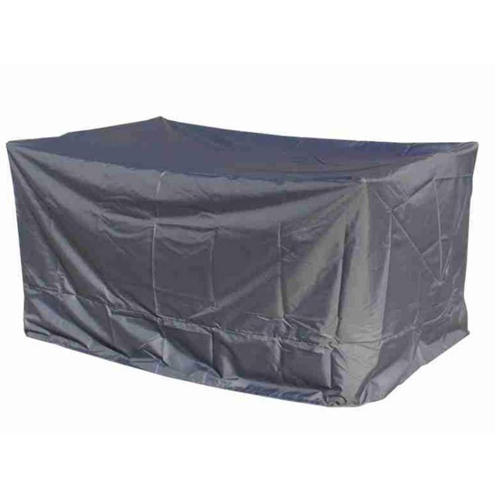 YANGJUN Rattan Furniture Covers Outdoor Waterproof Antifreeze Sunscreen Furniture Umbrella Dust Cover, Black 12 Sizes (Size : A-4-100x100x70cm)