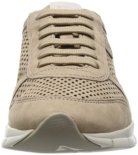 Geox D Sukie F, Zapatillas Para Mujer Marrón (Lt Taupe)