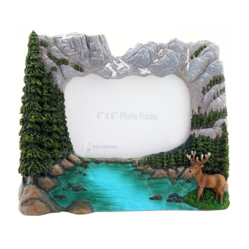 Rocky Mountain National Park Photo Frame (Rocky Estes Park Park National Mountain)