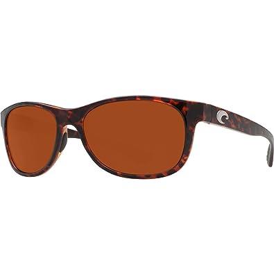 Costa Del Mar Prop Sunglasses, Tortoise, Copper 580 Plastic Lens
