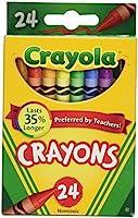 Crayola Crayons 24 Count - 2 Packs (52-3024)