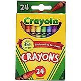 Мелки Crayola Crayons 24 /2 52/0024/2