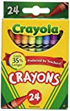 #9: Crayola Crayons 24 Count - 2 Packs (52-3024)