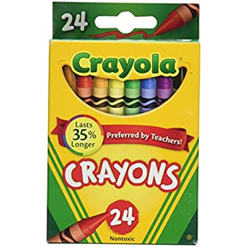 Crayola Crayons 24 Count - 2 Packs (52-3024)