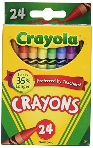 Crayola Crayons 24 Count - 2 Packs (52-3024) -