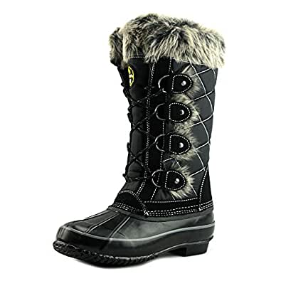 Amazon.com | Khombu Womens Jacey Cold Weather Duck Winter