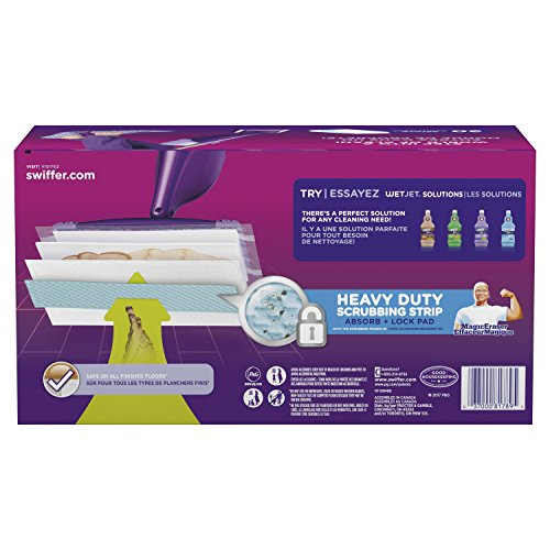 Swiffer Wetjet Extra Power With Mr Clean Magiceraser