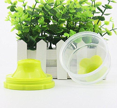 Rosa + Gelb + Blau Nahrungserg/änzungsmittel f/ür Kinder Candy Box Amaoma Milchpulver Box 3 Schichten Gro/ße Kapazit/ät Portabel Milchpulver Portionierer BPA-frei Travel Essential