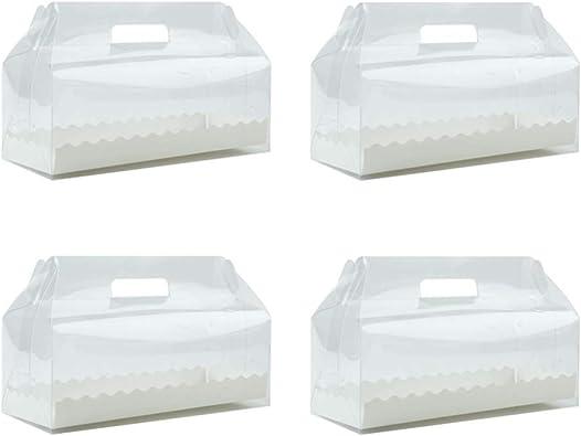 BESTonZON Caja de Almacenamiento desechable de plástico ...