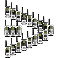 Retevis RT45 2 Way Radios 22 channel Private Codes VOX Scan License-Free Rechargeable Walkie Talkies (20 Pack)
