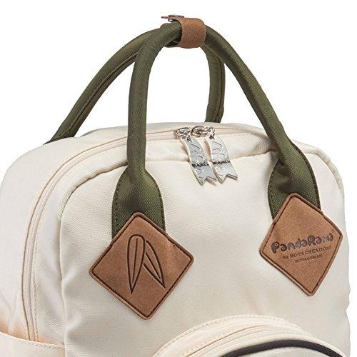 MORN CREATIONS - Bolso mochila  para mujer azul azul Creamy White