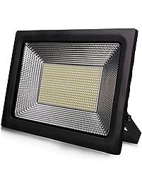 Lantoo Outdoor Led Flood Light, Super Bright 100watt Indoor Led Flood Light  Fixture, Waterproof