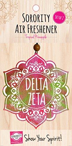 Delta Zeta - Mandala Air Freshener - 2/Pack