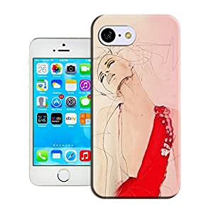 niucase beautiful girl painting picture of TPU new style scratch-proof covers for iphone5c