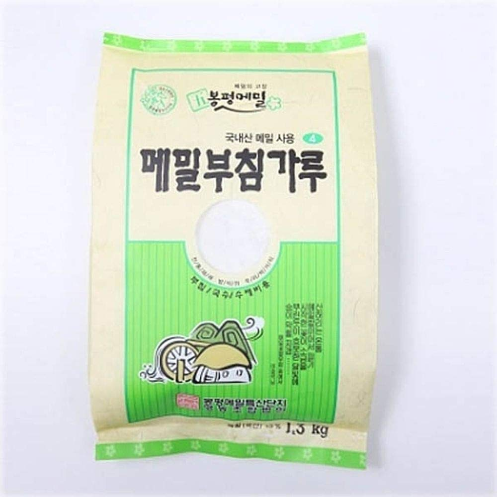 Bongpyeong Buckwheat Flour for Pancake 1.3kg (13% Buckwheat) Korean