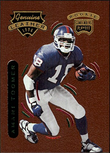 1996 Playoff Contenders Leather #67 Amani Toomer G - - G Amani