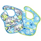 Disney Baby Waterproof Super Bib from Bumkins, Monsters