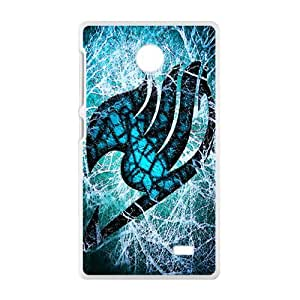 Blue-green Fairy Tail Cell Phone Case for Nokia Lumia X