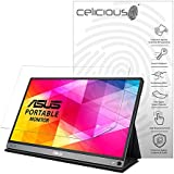 Celicious Vivid Plus Mild Anti-Glare Screen Protector Film Compatible with ASUS ZenScreen MB16AC [Pack of 2]