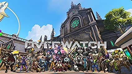 Amazoncom Xxw Artwork Overwatch All Heroes Poster All