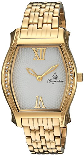 Burgmeister Women's BM806-219 Analog Display Quartz Gold Watch