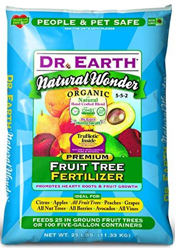 Dr. Earth Natural Wonder Fruit Tree Fertilizer 25 lb