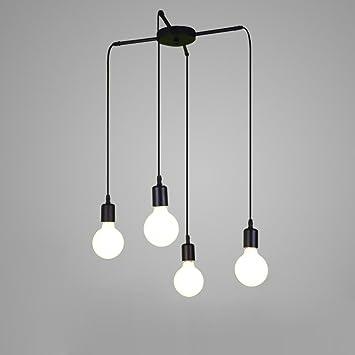 Schön-Lampe Modern Industrial Lámpara de Techo Iluminación ...