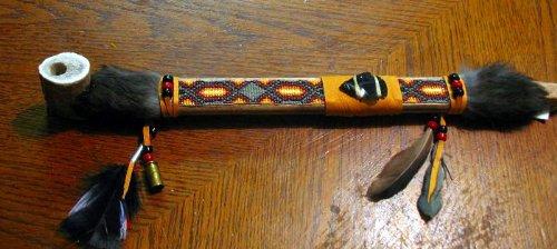Roger Enterprises Big Authentic Native American Handcrafted Bone 17