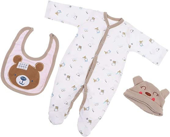 OMJDOLL Reborn Baby Doll Clothes Boys (for 20