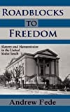 Roadblocks to Freedom : Slavery and Manumission in the United States South, Fede, Andrew, 1610271084