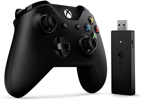 Microsoft Xbox One Wired Controller Gamepad PC,Xbox One Negro - Volante/Mando (Gamepad, PC, Xbox One, D-Pad, Menú, Inalámbrico, RF, USB): Amazon.es: Videojuegos