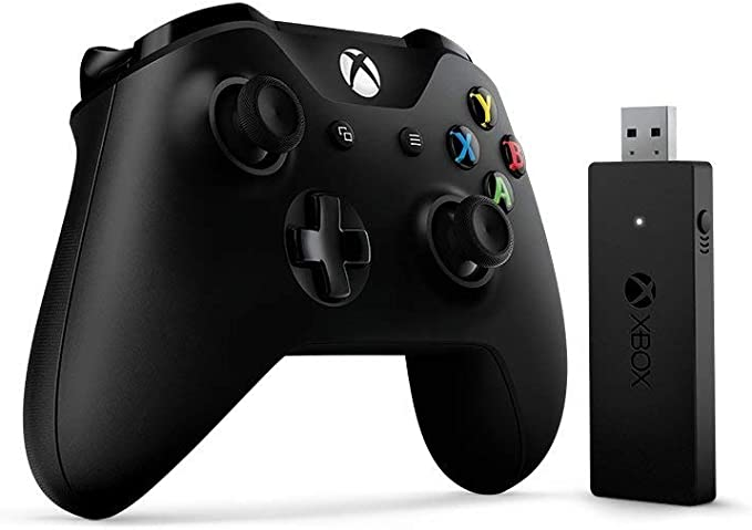 Microsoft Xbox One Wired Controller Gamepad PC,Xbox One Negro - Volante/ Mando (Gamepad, PC, Xbox One, D-Pad, Menú, Inalámbrico, RF, USB): Amazon.es: Videojuegos