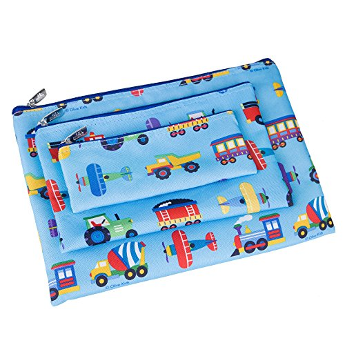 - Wildkin 3 Pc Organizer, Trains Planes & Trucks