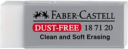 faber castells dust free vinyl eraser