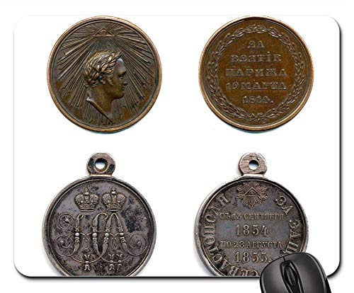 (Mouse Pads - Medals of The Russian Empire Medal Military Award)