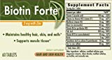 Biotin Forte 3 mg with Zinc - 60 - Tablet ( Multi-Pack)
