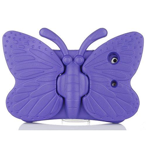Eastchina iPad 4 Case,iPad 3 Case,iPad 2 Case,3D Cartoon Light Weight EVA Shockproof Drop Proof Stand Case For iPad4|iPad 3|iPad 2 (iPad 2/3/4, Purple)