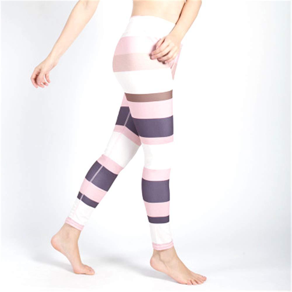 MLMYLZY Womens Print Leggings Hips High-Waist Yoga Pants