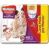 Fralda Huggies Roupinha Supreme Care XG 48 Unidades, Huggies, Vermelha, XG, pacote de 48