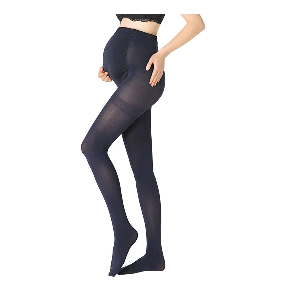 Meijunter Adjustable Maternity Pantyhose - 100 Den Tights Pregnant Stockings Ltd.