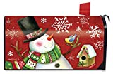 Briarwood Lane Frosty Friends Christmas Magnetic Mailbox Cover Snowman Standard