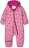 Hatley Girls' Baby Winter Bundlers Snowsuit, Pink (Precious Penguin), 18-24 Months