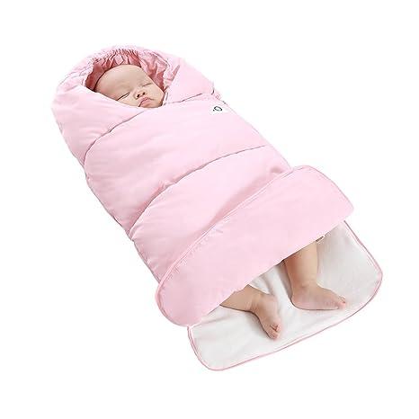 velidy Universal bebé cochecito saco de dormir bebé Bunting bolsa cremallera diseño suave algodón, ultra