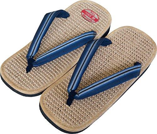 Sandali Giapponesi In Canapa Per Uomo Made In Japan Setta Zori * Misura Della Scarpa Del Giappone * N